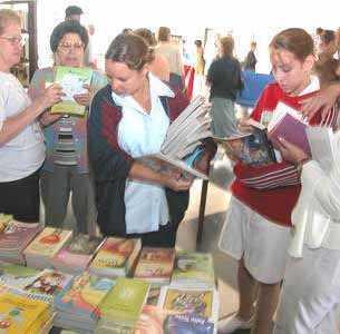 La XVIII Feria Internacional del Libro ocupa nuevos espacios en Ciego de Avila, Cuba