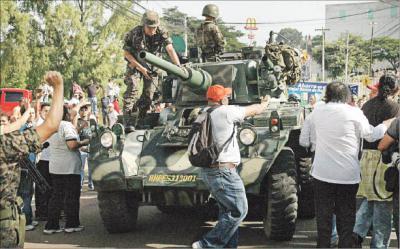 Comunidad internacional dice No! a golpe militar en Honduras