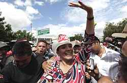 Honduras: La Primera Dama  salió al combate